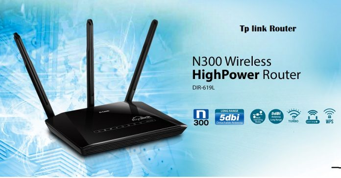 tp-link-2-antenna-router
