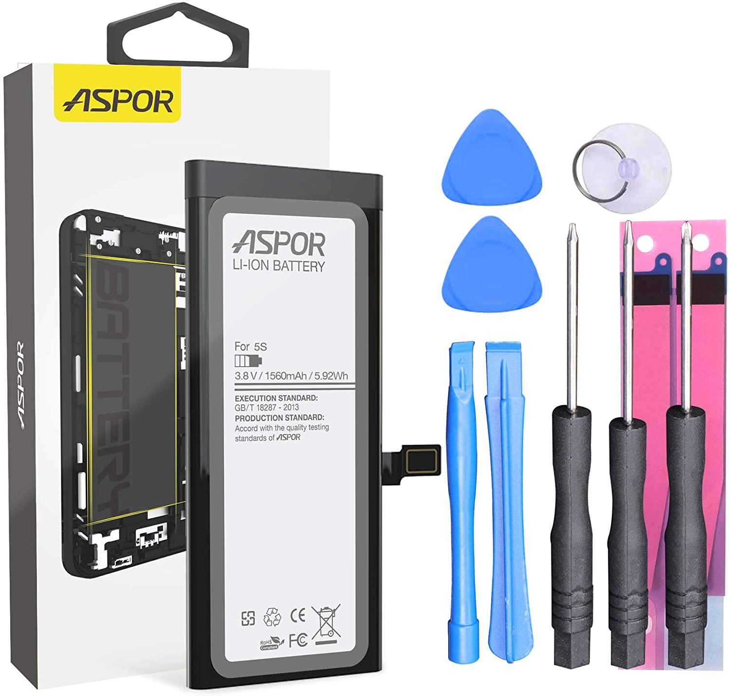 iPhone 5S Battery with Repair Tools